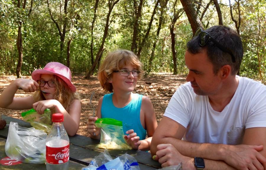 Picknick på Sainte Marguerite