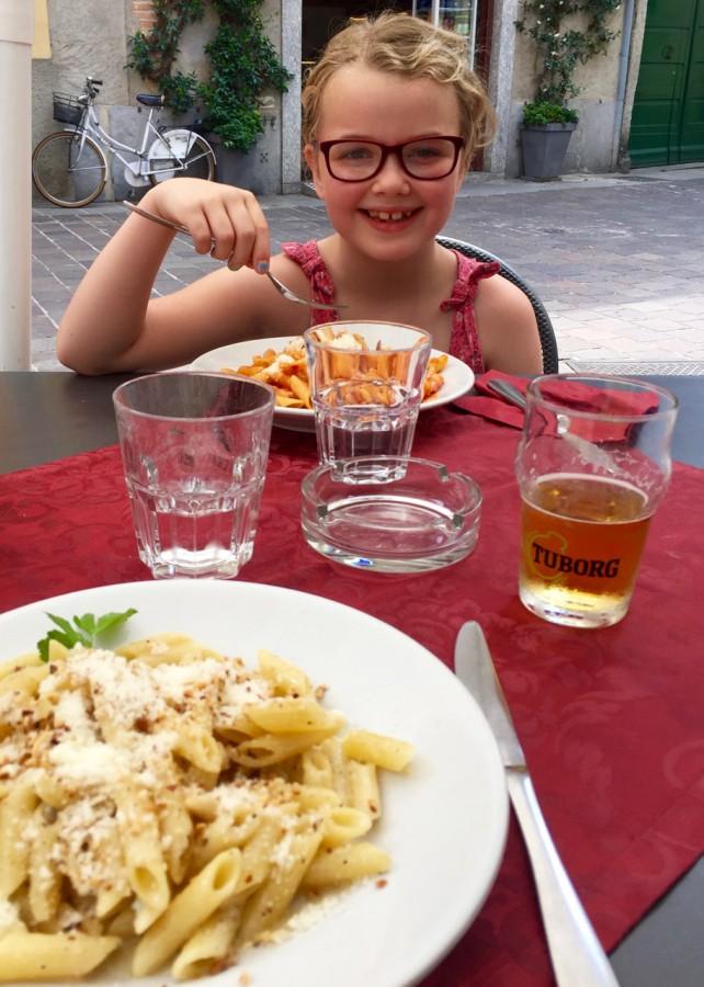 Lunch i Como